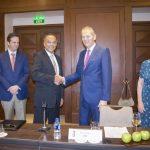 Convenio de Colaboración de Canaero con la Embajada Británica