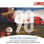 Mejora continua-Promesa y virtud de 90 años de exitosa trayectoria en Accel Logística